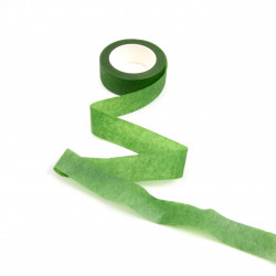 Banda adeziva verde 2,5 cm