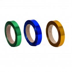 Panglica plastic metalizat 2 cm