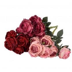 Buchet trandafiri mari 7 fire o tulpina