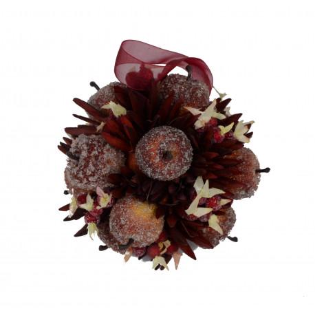 Ornament cu fructe glazurate
