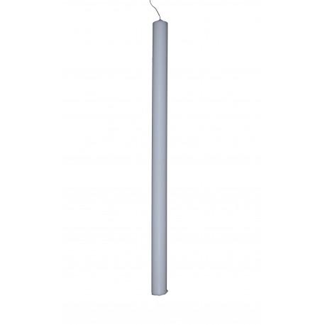 Lumanare de botez, tip II drepte h 67 / d 3,5 cm