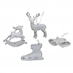 Ornament plastic pentru bradul de Craciun