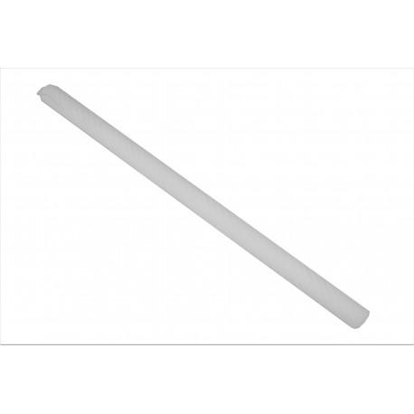 Lumanare de botez, tip II spiralat h 60 / d 3,5 cm
