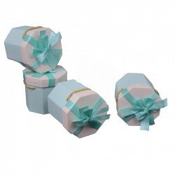 Cutie hexagonala in doua culori H 12