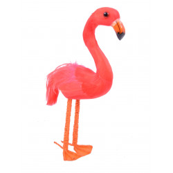 Pasare Flamingo ornament textil
