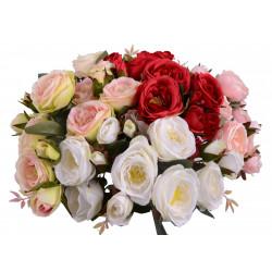Buchet trandafiri 13 fire o tulpina