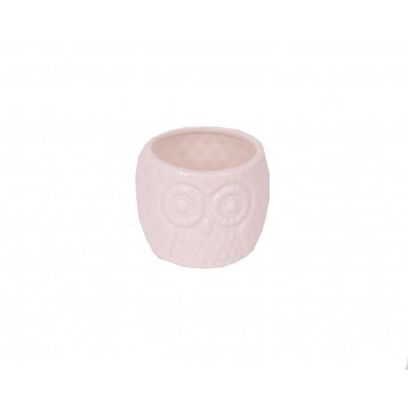 Ghiveci ceramic uni model bufnita