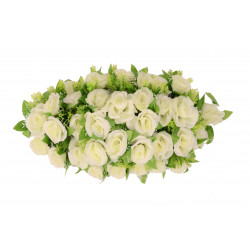 Coroana ovala, florala D 70x35