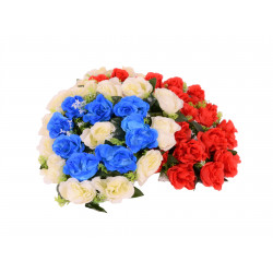 Coroana tip inima, florala D 40x43