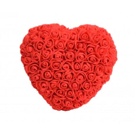 Inima din trandafiri de spuma D 25