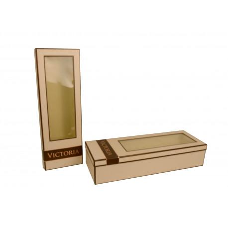 Set doua cutii dreptunghiulare cu capac transparent