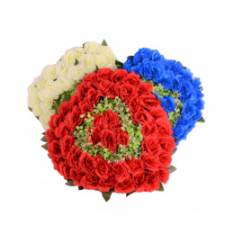 Coroana tip inima, florala D 53
