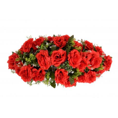 Coroana ovala, florala D 70x33