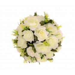 Coroana rotunda florala buchet