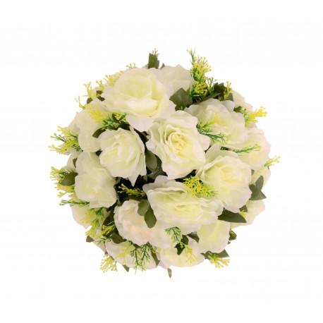 Coroana rotunda florala mica D 25