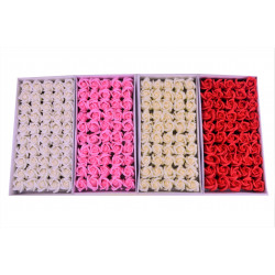 Set 50 trandafiri de sapun mici 9 petale D 5