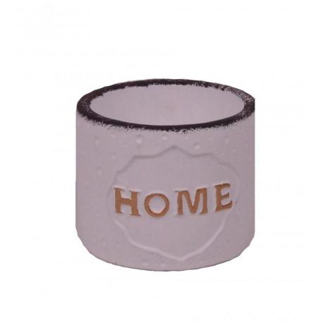 Ghiveci ceramic rotund cu inscriptie Φ 10