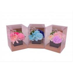 Aranjament din flori de sapun L 12