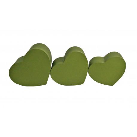 Set 3 cutii tip inima iuni