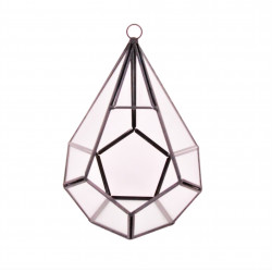 Ornament din sticla si alama H 20