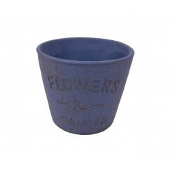 Ghiveci ceramic rotund H 11