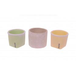Ghiveci ceramic rotund H 8.5