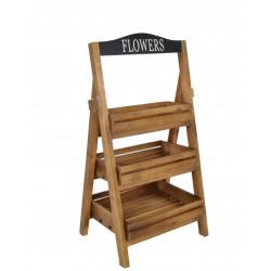 Suport din lemn pentru ghivece H 65