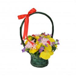 Cosulet cu aranjament floral