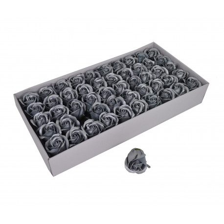 Set 50 trandafiri de sapun metalizati