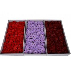 Set 50 flori de cires din sapun