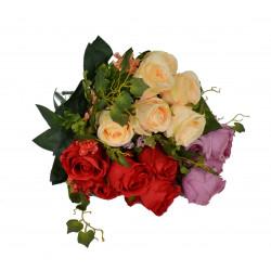 Buchet trandafiri 6 fire o tulpina