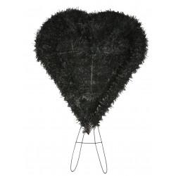 Coroana brad tip inima plina H 80