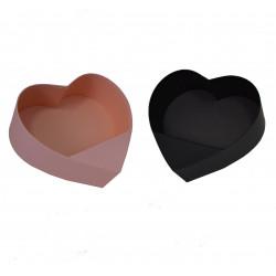 Ghiveci din carton in forma de inima uni