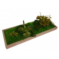 Tablou cu plante artificiale 30 x 83