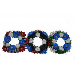 Coronita rotunda cu flori D 38